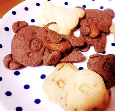 リラックマのクッキー